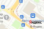 Схема проезда до компании Аknes.ru в Твери