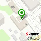 Местоположение компании Салон мебели на ул. Ефимова