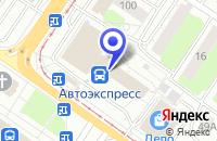 Схема проезда до компании СЛУЖБА ЗАСЕЛЕНИЯ КВАРТИРАНТ в Твери