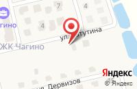 Схема проезда до компании Чагино Тверь в Бурашево