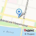 Главное управление по государственной охране объектов культурного наследия Тверской области на карте Твери