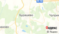 Гостиницы города Большое Гришкино на карте