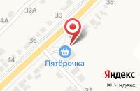 Схема проезда до компании Пятёрочка в Дьяконово