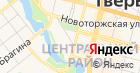 Управление Федеральной службы по надзору в сфере здравоохранения и социального развития по Тверской области на карте