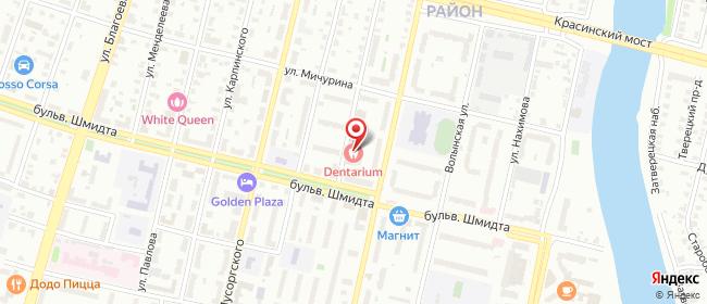 Карта расположения пункта доставки Тверь Зинаиды Коноплянниковой в городе Тверь
