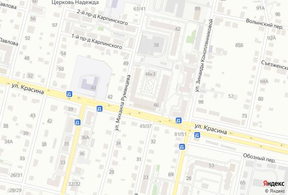 купить квартиру в ЖК Красина 46