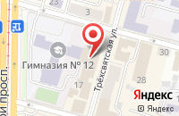 Схема проезда до компании Мнп Автоматика в Твери