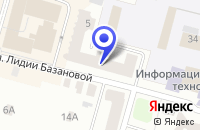 Схема проезда до компании ТПК АМСЕРВИС в Твери
