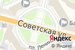 Схема проезда до компании IPmebel.com в Твери