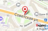 Схема проезда до компании Союзстройпласт в Твери