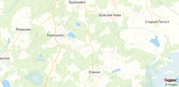 Цветково на карте