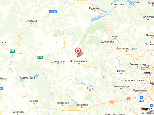 деревня Кашино на карте
