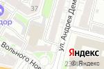 Схема проезда до компании Стоматологическая клиника доктора Афанасьевой в Твери