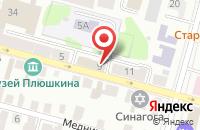 Схема проезда до компании Русский Парк в Твери