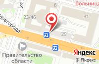 Схема проезда до компании Тверской Топливный Союз в Твери