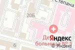 Схема проезда до компании Детская городская клиническая больница №1 в Твери