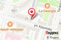 Схема проезда до компании Автоцентр ВОСК в Твери