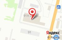 Схема проезда до компании М-Сервис в Твери