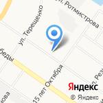 Комсомольская Правда-Тверь на карте Твери