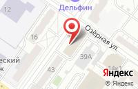 Схема проезда до компании Мустанг-2 в Твери
