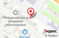 Схема проезда до компании Ателье на Московской в Твери
