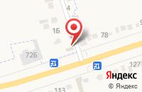 Схема проезда до компании Фрут Снек в Прямицыно