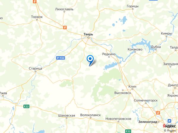 деревня Панино на карте