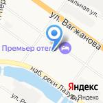 Отдел Военного комиссариата Тверской области на карте Твери