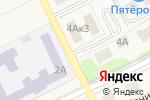 Схема проезда до компании Автостоянка в Товарково