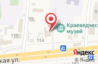 Схема проезда до компании Центрально-Черноземный банк Сбербанка России в Прямицыно