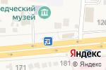 Схема проезда до компании Радуга в Прямицыно