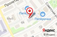 Схема проезда до компании ЭКМА-РОС в Товарково