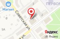 Схема проезда до компании Комфортные окна в Товарково