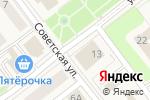 Схема проезда до компании Одежда в Товарково