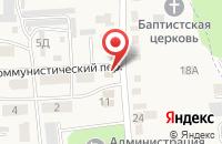 Схема проезда до компании Росреестр в Прямицыно