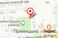 Схема проезда до компании Курскстат в Прямицыно