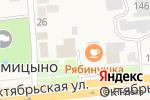Схема проезда до компании Магазин в Прямицыно