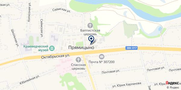 Юридическая компания на карте Прямицыно