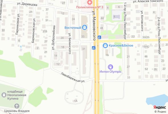 жилой комплекс по ул. Маяковского, 31