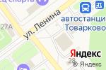 Схема проезда до компании Банкомат, Минбанк, ПАО в Товарково