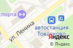Схема проезда до компании Банкомат, Сбербанк, ПАО в Товарково