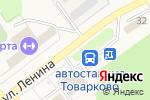 Схема проезда до компании Товарковская автостанция в Товарково