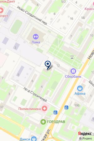 ВОЛОКОЛАМСКИЙ УЧАСТОК на карте Волоколамска