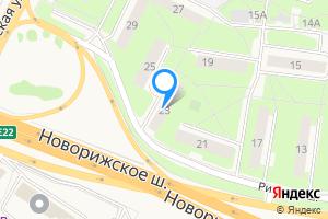 Сдается двухкомнатная квартира в Волоколамске Рижское шоссе, 23