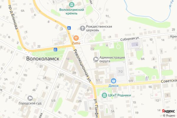 Ремонт телевизоров Город Волоколамск на яндекс карте