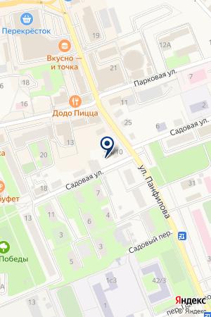 ВОЛОКОЛАМСКИЙ ЛЕСХОЗ на карте Волоколамска