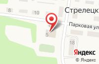 Схема проезда до компании Администрация Пахомовского сельского поселения в Стрелецком