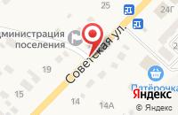 Схема проезда до компании Копицентр в Знаменке