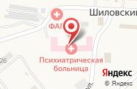 Схема проезда до компании Орловская областная психиатрическая больница в Шиловском