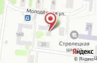 Схема проезда до компании Орловский в Стрелецком